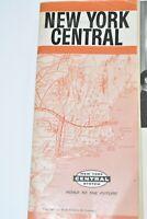 New York Central System Public Timetable 1962 November 25 - N1