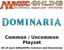 MTGO Magic Online DAR(DOM) Dominaria Playset 804 Cards 4x Common/Uncommon/Land