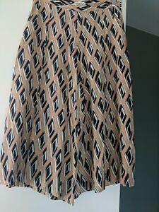 Whistles Silk Culottes UK12 Stunning Print