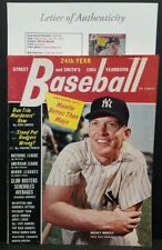 MICKEY MANTLE Signed Autographed NEW YORK YANKEES Full MAGAZINE.JSA LETTER