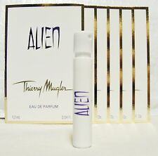 THIERRY MUGLER ALIEN  '6'  1.5 ML PERFUME SPRAYS(NO CARDS)+ TOTE+2 FREE=8 SPRAYS