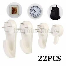 22Ps Hard Wall Hanging Hooks Heavy Duty Picture Hook Strong Nail Fixing S M L XL