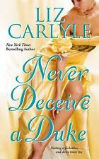 Never Deceive a Duke by Liz Carlyle (2007, Paperback)