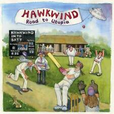 Hawkwind - Road To Utopia (NEW CD ALBUM) (Preorder Out 14th September)