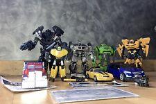 Transformers Movie Lot Optimus Bumblebee Ironhide Skidz And More