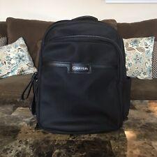 New  Calvin Klein Lane Nylon Backpack (Black/Silver) Backpack Bags 158.00