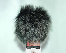 Wind Tech Mic-Muff Fitted Fur Windscreen For Zoom h1 Handy Recorder