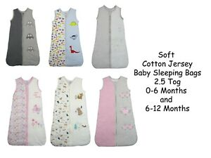 Baby Sleeping Bags Bebe Bonito 2.5 Tog 0-6 and 6-18 Months Boys Girls Unisex