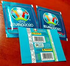 EURO 2020 NO PREVIEW - 3 Sealed Packet Pochette Bustina Pack Envelore Rare