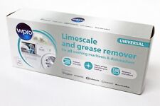 WPRO UNIVERSAL WASHING MACHINE LIMESCALE + DEGREASER ONE YEARS SUPPLY  C00424828