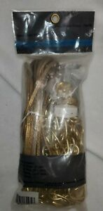 SWAG LIGHT KIT  FINISHED BRASS  NEW IN PACK 70470