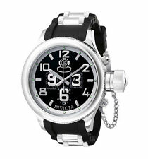 Invicta Stainless Steel Case Plastic Band Wristwatches