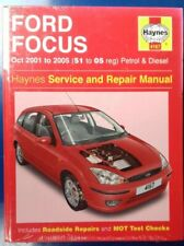 Ford Focus (Petrol & Diesel) Haynes Manual from 2001 to 2005. Never been opened!