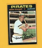0639  1971 Topps #230 Willie Stargell PIRATES CARD  NO CREASES BK$30