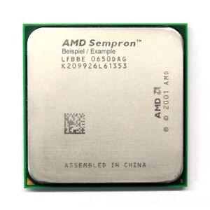 AMD Sempron 64 3100+ 1.80GHz/256KB Socket/Socket 754 SDA3100AIP3AX CPU Processor