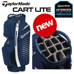 TaylorMade Cart Lite Golf Trolley/Cart Bag Navy/Flag White - NEW! 2021
