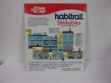LIVING WORLD HABITRAIL STICKABLES FOR YOUR HAMSTER OFFICE BUILDING ADDIT. FLOORS