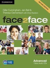 face2face Advanced Class Audio CDs (3), Clementson, Theresa, Bell, Jan, Cunningh
