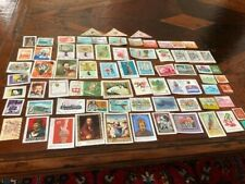 72 Postmarked Hungarian Stamps