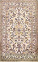 Vintage Floral Traditional Hand-knotted Area Rug Wool Oriental IVORY Carpet 3x5