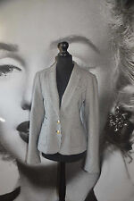 BANANA REPUBLIC NEW DOGTOOTH JACKET BLAZER WOOL BLACK WHITE RIDING EQUESTRIAN