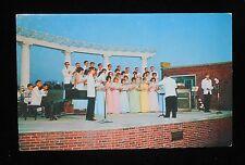 1960s Judson College Choir Campus Amphitheatre Elgin IL Kane Co Postcard