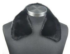 C051 New mink fur scarf collar wraps real fur winter men jacket 2 colors