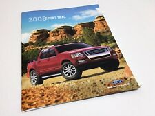 2008 Ford Sport Trac XLT Limited Brochure