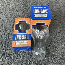 More details for limited edition barr irn bru glass set of 2 tumblers boxed - the mighty glass