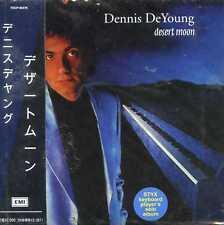 DENNIS DEYOUNG - DESERT MOON ( MINI LP AUDIO CD with OBI )