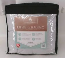 Resort Collection True Luxury All Seasons Gray Hypoallergenic Queen Comforter