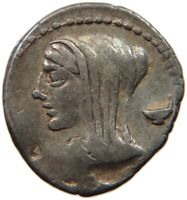 ROME EMPIRE L CASSIUS LONGINUS DENAR IIIV #t126 181