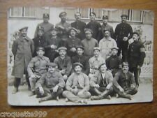 cpa Postcard Carte Photo MILITAIRE militaria WWI soldats diff N° 11/122/151/233