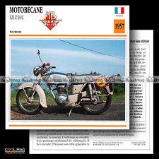#070.09 MOTOBECANE 125 Z 56 C 1957 (Z56C) Fiche Moto Motorcycle Card
