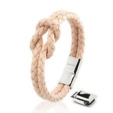 SERASAR Leder Armband für Frauen in verschiedenen Farben & Längen mit Schachtel