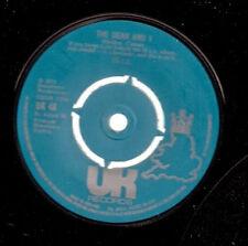 "10 CC [Ten c.c. 10cc] The Dean & I UK 45 7"" single"