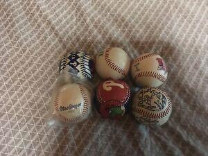 5 Baseballs and 1 Tball