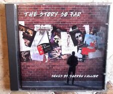 THE STORY SO FAR SONGS BY DARREN VALLIER ~ GENUINE & COMPLETE CD ALBUM VGC