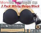 Women's Underwear Strapless Bra Invisible Wedding Bra Top soutien gorge Bralette