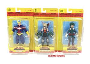 "My Hero Academia 5"" Action Figures Funimation McFarlane Toys Set Of 3 NEW 2021"