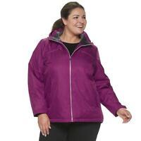 Women's ZeroXposur Winter Coat Brand New w/Tags Size 3X Sugar Plum Very Nice!