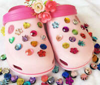 Shoe Charms Crocs Pegs Jewels Pair, One For Each Shoe, birthstone. RESTOCK!!