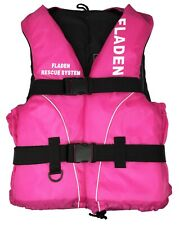 Fladen Fishing Buoyancy Aid Life Jacket Safety Vest Kayak Canoeing In Pink