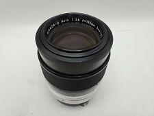Nikon Nikkor-Q Auto 135mm F2.8 Prime Lens for Non-AI Mount SLR/Mirrorless Camera
