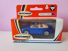 Matchbox 1-75 MB50 Porsche 911 Carrera Cabriolet, selling superfast lesney