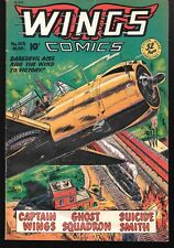 Wings Comics Number 103 1949 Fiction House GGA Good Girl Art World War Two
