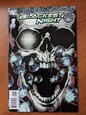BLACKEST NIGHT #1 (0F 8) NM 2009 GEOFF JOHNS GREEN LANTERN