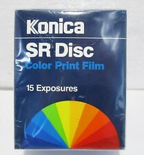 Konica SR Disc Color Print Film 15 Exposures New