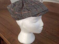 New Grey Retro Baker Boy Hat Newsboy GATSBY Tweed Cap Country Mens Womens Golf