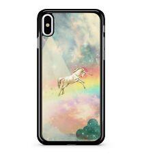 Majestic Enchanted Unicorn Twinkling Rainbow Galaxy Sky 2D Phone Case Cover